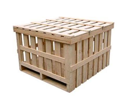 木栏包装箱